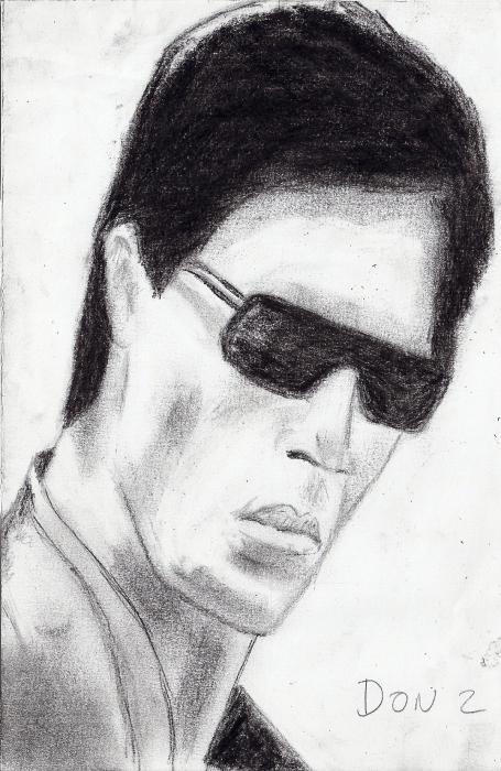 Shahrukh Khan by rajen1977